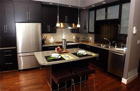 Black Cabinet Kitchen Ideas Modern Kitchen Interior Designs Home Design Ideas For The Small Kitchen
