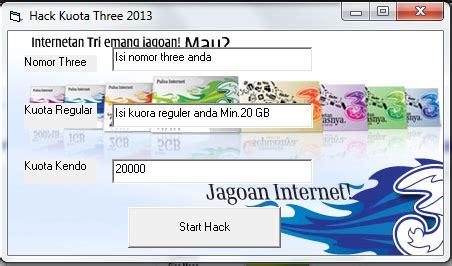 cara pake kuota malem tri di siang hari cara hack quota internet 3 three terbaru 2014 madura