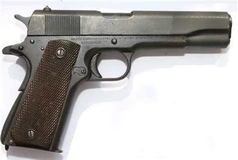deactivated wwii manufactured colt 1911a1
