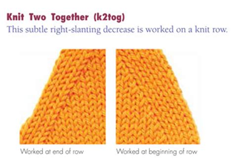 how to decrease in knitting decrease knitting