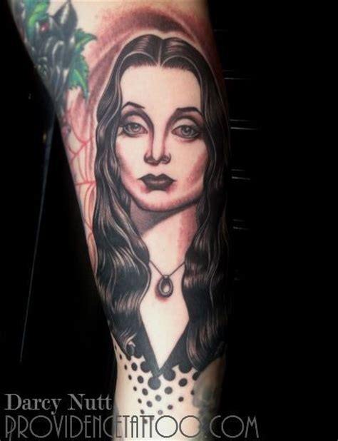 morticia addams tattoo morticia by darcynutt at providencetattoo