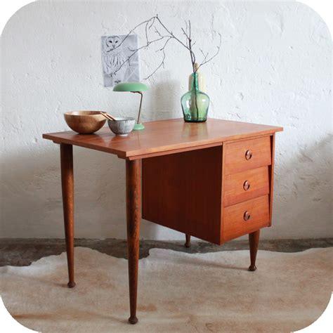 bureau style vintage bureau style scandinave vintage bureau vintage placage