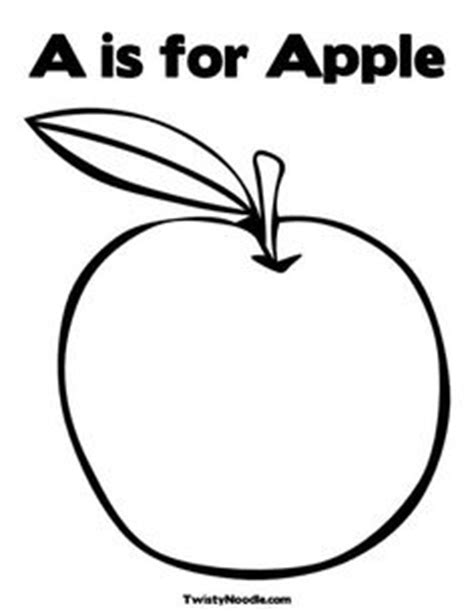 coloring book no apple 1000 images about a is for apple on apple