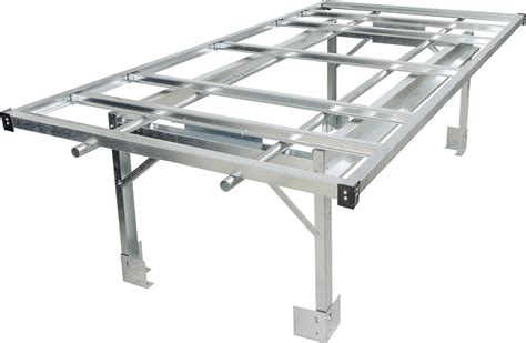rolling benches hydrofarm agt10001 4 x 8 rolling bench system