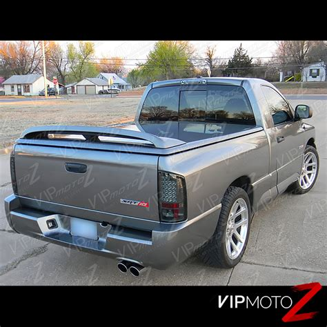 2002 dodge ram 1500 tail 02 05 ram 1500 dark smoke headlights parking tail lights