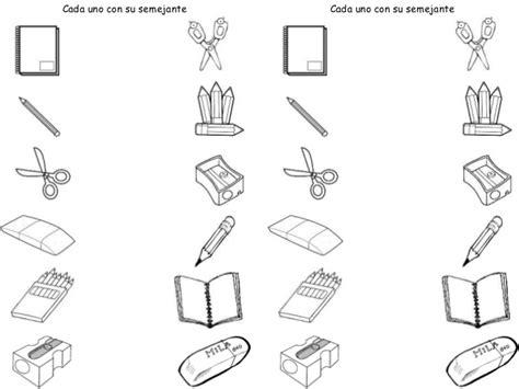 imagenes de utiles escolares en caricatura para colorear utiles escolares para colorear en fichas imagui