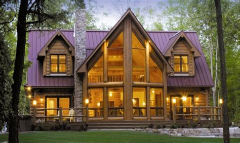 Large Cabin Plans Large Log Cabin Floor Plans