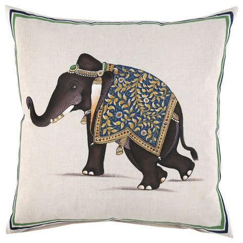 Decorative Elephant Pillows indian elephant decorative pillow decorative