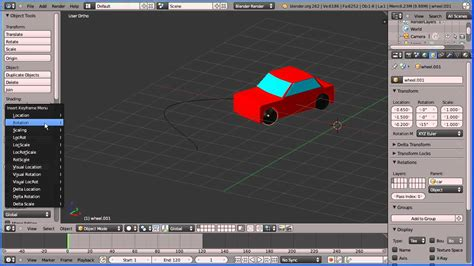 blender 3d car tutorial blender animation tutorial a car following a path and the