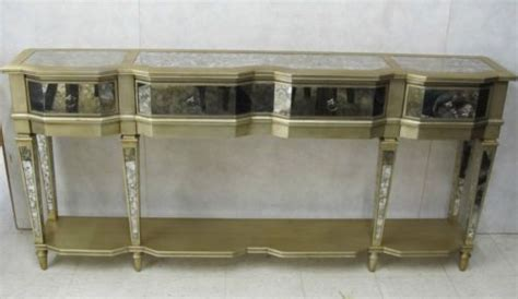 Thin Buffet Table sanctuary three drawer thin console buffet table
