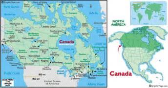 northern us canada map china