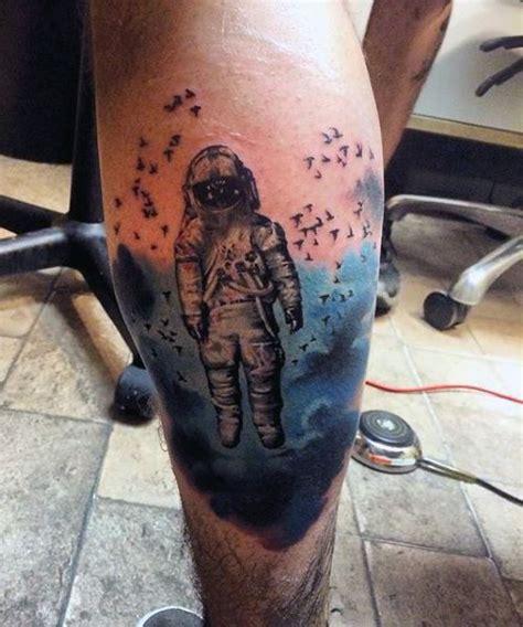 calf muscle tattoo designs 50 calf tattoos for below the knee