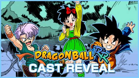 r ball 2 dragon ball r r cast reveal and more masakox youtube