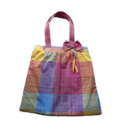 tutorial tas dari kain cara membuat tas kain taskainspunbond com