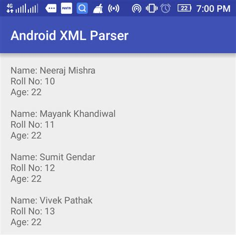android xml android xml parsing using xmlpullparser superx team developers growth hacking for