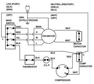 wiring diagram basic air conditioner conditioning alexiustoday