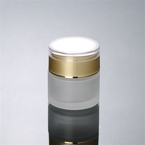 50g frosted glass jar cosmetic container jar cosmetic jar cosmetic packaging glass