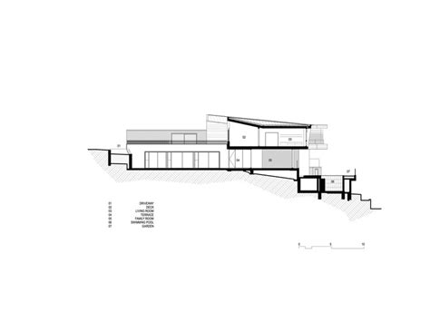 cee section balmoral house fox johnston architects archdaily