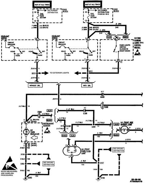 stereo wiring diagram 2000 buick century wiring diagram