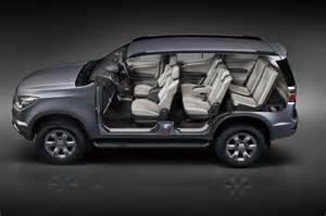 Chevrolet Suv Trailblazer New Chevrolet Trailblazer Suv Goes On Sale In Thailand