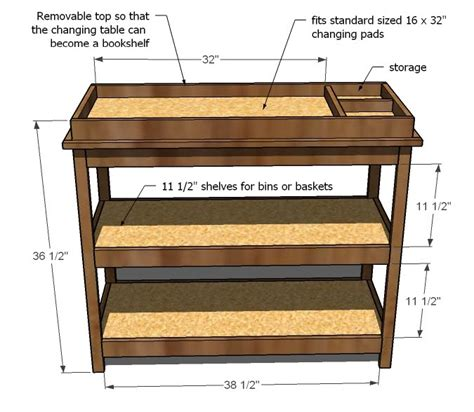 Changing Table Design Pdf Diy Changing Table Plans Carved Wood Diywoodplans
