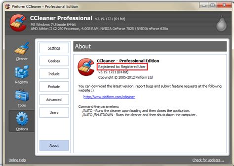 ccleaner uninstalled itself ccleaner proffesional and business version