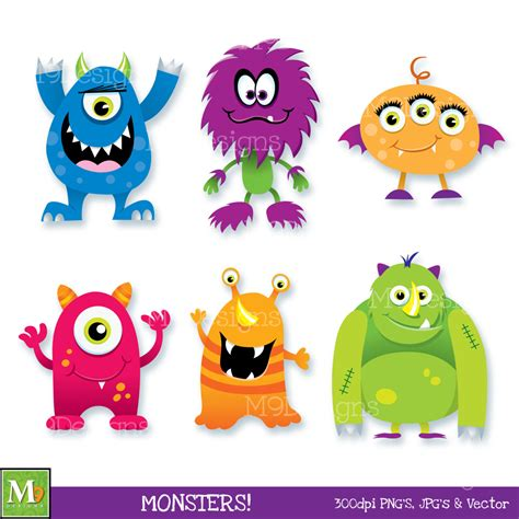 monsters free monsters clip clipart scary monsters