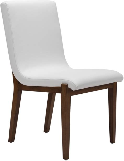 Dining Chair Set Of 2 Hamilton White Dining Chair Set Of 2 From Zuo Coleman Furniture