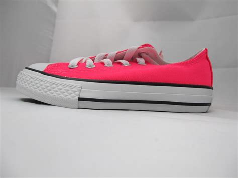 new kid s converse ct as spec ox 314063f neon pink bright