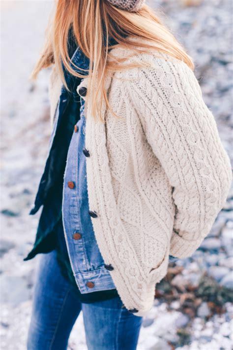 Wst 10259 Flower Knit Cardigan knit sweater