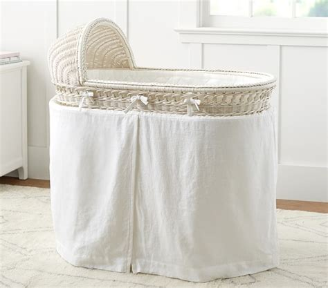 Bassinet Bedding by Bassinet Mattress Pad Set Pottery Barn