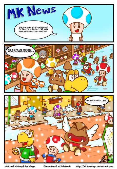 the christmas gift pg 1 by mkdrawings on deviantart