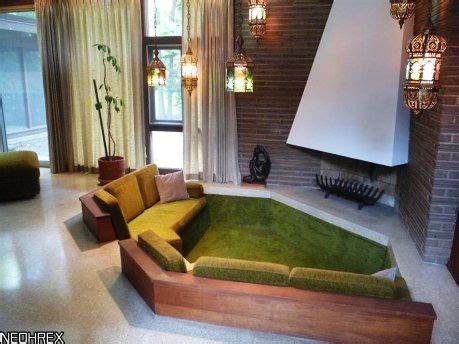 sunken couch sunken lounge on pinterest sunken living room