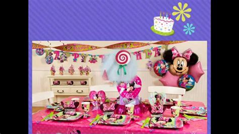 At Home  Ee  St Birthday Party Ideas Ee   Fors Youtube