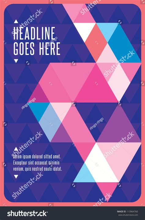 layout background poster print vector poster design template layout design