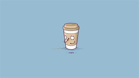 cute coffee wallpaper hd minimalism coffee hd artist 4k wallpapers images