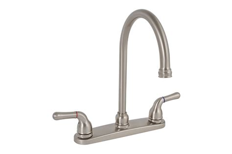 premier kitchen faucets faucet 120197 in brushed nickel by premier