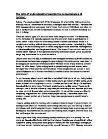 Cyber World Essay by Don T Get Me Started On Bullying Gcse Marked By Teachers