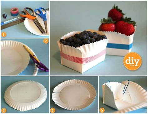 How To Make Paper Plates At Home - diy paper plate crafts ideas for