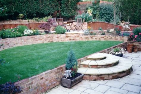 Landscaping Ideas For Sloping Gardens Sloping Garden Rg Hewitt Garden Landscaping
