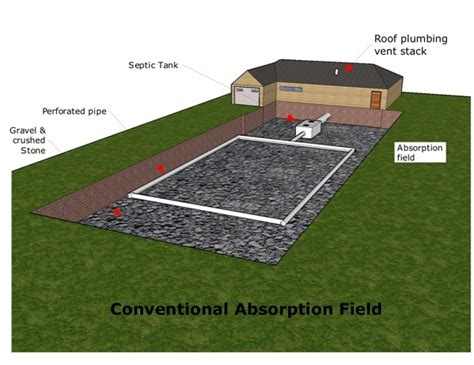 Field Designs Line For Payless by Conventional Septic Absorption Drainfield