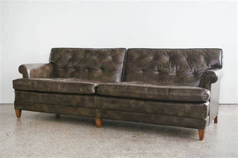 henredon leather sofa henredon leather sofa homestead seattle