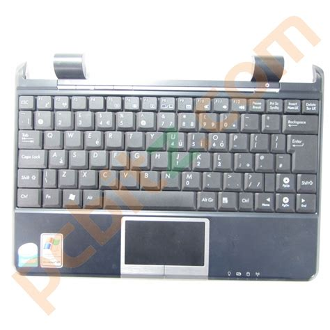 keyboard layout before qwerty asus eee pc 904hd palmrest with keyboard uk qwerty