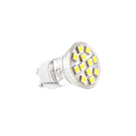 Lu Led Halogen Motor gu10 gu11 mr11 led ll halogen 230v 1 9w 135lm 12led smd