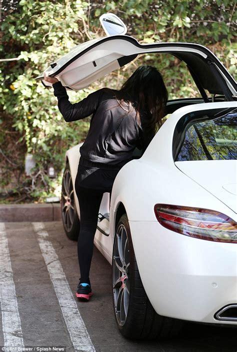 Khloe Kardashian Home Interior kourtney kardashian shows off her new 250k mercedes