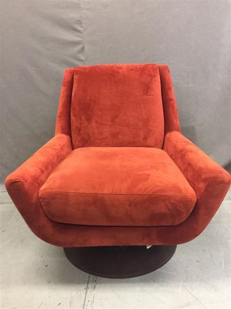 couch potato santa couch potato swiveling red modern chair friends of hospice