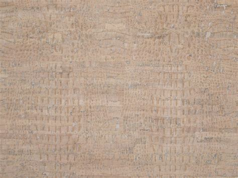 Cork Material Touch Pro Croco White Cork Fabric Sallie Tomato