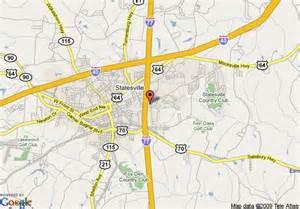 map of hton inn statesville nc statesville