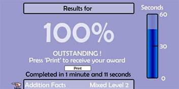 my result on math magician by