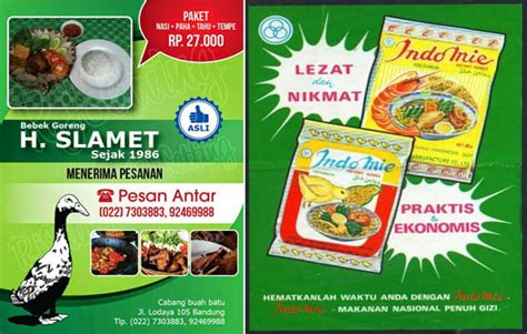 contoh iklan makanan 7 contoh iklan produk niaga menarik gambarnya contoh